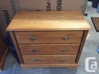 Bedroom low-profile chest of drawers. Custom made -