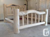 Customizeded solid log beds for sale! Developed and
