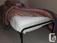 1 King-size sleigh bed with sleep number mattress, 80 x