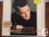 Beethoven 9 Symphonies by Herbert von Karajan and the