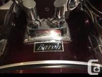 Hi there, I am selling my Baron drums, including: -