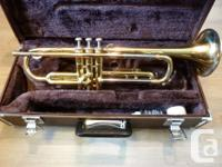 For sale is a Yamaha YTR 2320 student model trumpet in