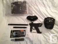 Used, Beginners Paintball gun for sale, comes with mask, 3 9 for sale  Alberta