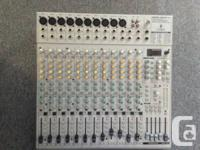"""Includes a EURORACK UB2442FX-PRO, Two 15"""" powered"""