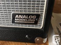 Behringer Vintager GM110. Analog modeling amp. Great