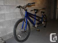 Blue Belize Twin Rider, 24 rate, Bike for Three