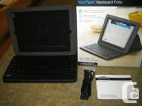 For Sale:.  1. Belkin Your kind Keyboard folio,