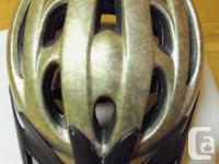 Bell Brand Adult Astra Bicycle Helmet. Fits Head Size