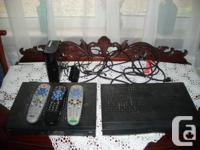 Changed to fibre optics TV. I have for sale a complete