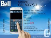 GET SAMSUNG GALAXY S4 FOR $99   SIGN TWO YEARS CONTRACT