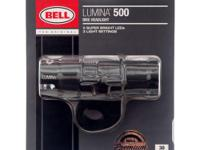 BELL LUMINA 500 Bicycle Bike Headlight Light - powered
