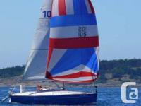Beneteau 210 Spirit (21ft/6.m) is a compact club racer