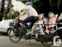 We're selling a new brand of cargo bikes called Benno