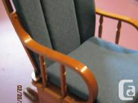 We have for sale two GLIDER ROCKERS. They have been