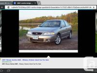 2001 Nissan sentra power everything key less entry as