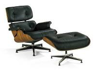 Reproduction of the Charles Eames lounge chair with