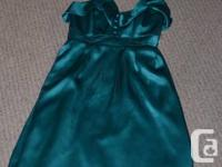 beautiful Betsey Johnson green dress  size XS
