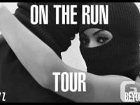 Beyonce & Jay-z On the run concert tickets taking place