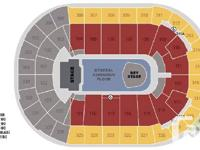Great seats right in front of the BEY STAGE.  Section