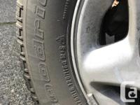 Good tires No punctures or leaks Highway use mainly All