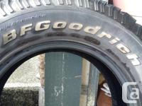 Truck tires BF Goodrich T/A KO tires, LT265/70R17 in