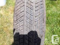 4-BF Goodrich Tires M/S-215-70-16 Tread is the same on