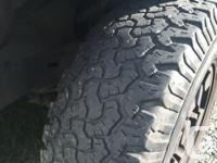 4 tires with 35/40% tread left good condition $260 set