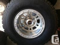 For sale Set of 4 big BFG tires with lots of tread 80%