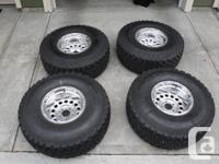 """Have 4 Pro-Comp polished Deep dish rims which are 10"""""""