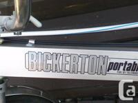I HAVE 2 BICKERTON FOLDING BIKE ALUMINIM WILL SEPERATE