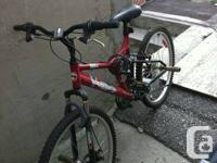 Bicycle hardly used $90 or best offer please call