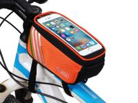 "Bicycle Bike Frame Phone Bag - 1.4L 4.8"" - Orange -"