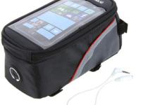 Bicycle Bike Frame Phone Bag - 1.5L - Red - L19.5 x W10