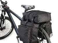 Bicycle Bike Rear Rack Water Resistant Double Pannier
