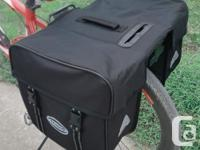 Bicycle Bike Rear Rack Waterproof Double Pannier Bag -