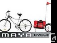 The most versatile single wheel bike trailer that's