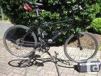 Dahon Folding bike--cost $900 new--Excellent