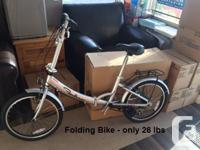 Folding Bikes. Great for individuals and also the