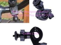 Bike Bicycle Handlebar Roll Bar Seatpost Mount Holder