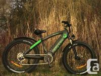 Finally a real high performance electric fat bike!