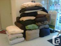 We have a surplus of big comfy cushions from furniture