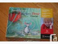 Big Hungry Bear Game - new in package $8 (48 cards, 4