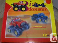 Big Monster 4 x 4 Friction Truck