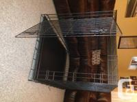 I bought this pet crate for a pet dog which we embraced