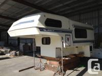 1988 Bigfoot 11.5 foot camper - very solid unit Weighs