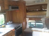 "For sale is my 1986 Bigfoot 9'6"" camper. Comfortable"
