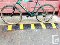 18 rate bicycle has brand-new front and rear tire and