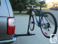 REESE ~ Two Bike ~ Trailer Hitch Placed ~ Tilting Bike