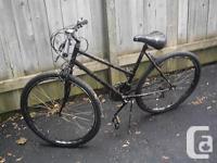 """Mountain Bike,15 speeds,26"""" wheels, kick stand, bell,"""
