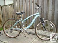 Nice riding bike for leisure/casual cruising or trail